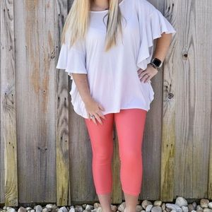 Pants - Coral Jeggings